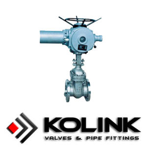 Electric Operated Gate Valve Flange Connection