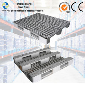 Standard Specufucation 1200X1000 Heavy Duty Racking Plastic Pallet pictures & photos