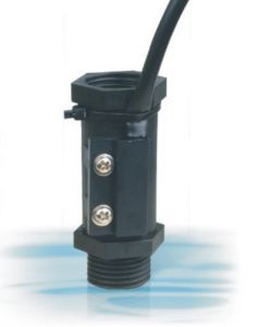 Black Vertically Installation Direction Nylon Material Flow Switch (FS-2P)