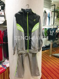 Leisure Sports Wear Track Suits in Man Sport Hooides with Long Pants Fw-8645 pictures & photos