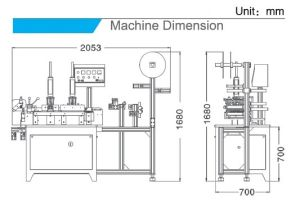 Special-Function Label Cuting&Folding Machine (HY-168+HY-586W) pictures & photos