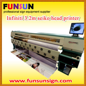 Outdoor Digital Vinyl Sticker Printing Machine (3.2m, seiko head) pictures & photos