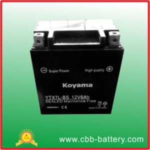 Ytx7l-Bs Motorcycle Battery-Lead Acid Battery-Maintenance Free Battery
