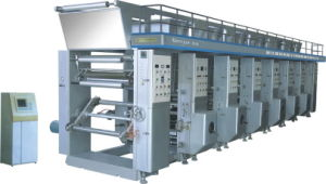 Plastic Film Six Colors Rotogravure Printing Machine