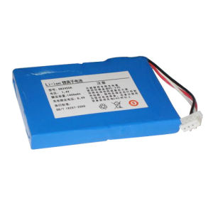Polymer Li-ion Rechargeable Battery Pack 083450 1400mAh 7.4V