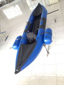 2 Person Inflatable Kayak with Extra Small Safety Tubes pictures & photos