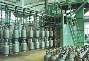 Gas Cylinder Shot Blasting Machine pictures & photos