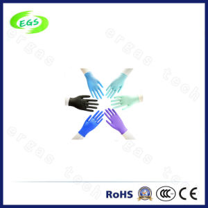 Color Cleanroom Nitrile Glove From Factory pictures & photos