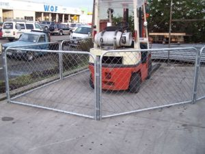 Small Chain Link Panel