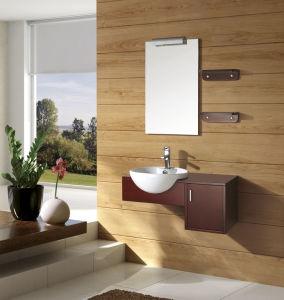 Thailand A Grand Wood, Modern Single Sink Bathroom Vanity (FS-A832)