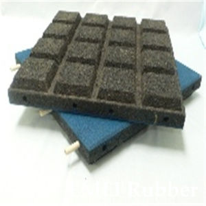 Rubber Floor Mat/Pin-Hole Rubber Floor Mat pictures & photos