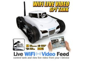 WiFi Tank, Ispy Tank with Camera