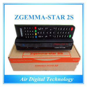 Air Digital Zgemma-Star 2s with Two Sat Tuner IPTV Box pictures & photos