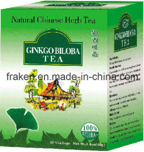 High Quality Ginkgo Biloba Ginseng Tea / Ginkgo Biloba Tea pictures & photos