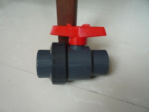 Single Union PVC Lever Ball Valve pictures & photos