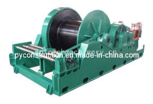 Electric Pull Winch 40ton with Spooling Device for Shipyard pictures & photos