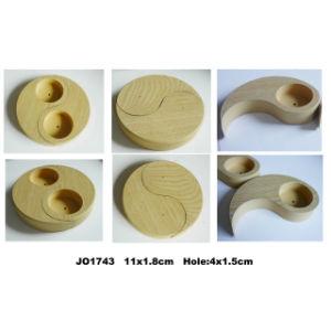 En71 ASTM Standard MDF Taiji Canlder Holder pictures & photos