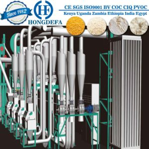 China Automatic Maize Flour Making Machine for Africa pictures & photos