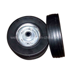 Inflatless China Product Solid Rubber Wheel (9′x3′)