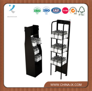 Floor Standing Metal Display Rack for Beverage pictures & photos