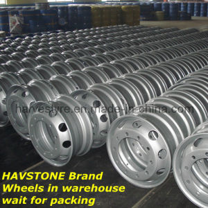 8.25X22.5 Tubeless Truck Tyre Steel Wheels pictures & photos