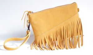2017 Newest Fringe Fake Suede Crossbody Bag pictures & photos