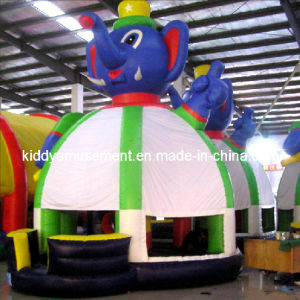 Inflatable Bouncer Castle with Animal Style