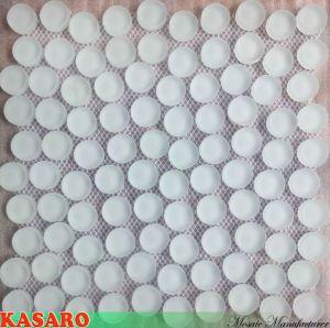 Round Mosaics Decor Kitchen Sinks (KSL135102)