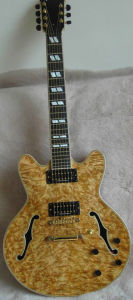 Special Wood Cheap Price Fully Handmade Jazz Guitar