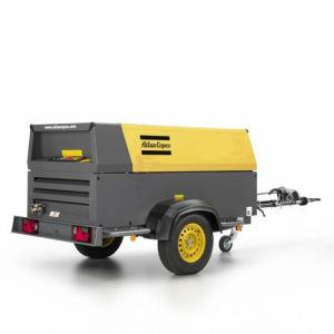Atlas Portable Diesel Screw Air Compressor pictures & photos