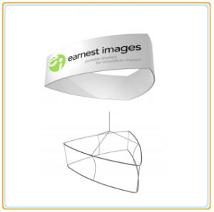 Curved Triangular Hanging Banner for Exhibition pictures & photos