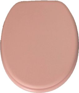 2016 Beautiful Pink MDF Toilet Seat