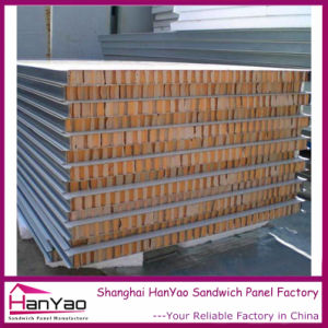 Insulated Rock Wool Sandwich Panel Customized pictures & photos