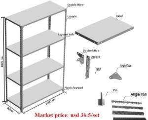 Metal Wire Storage Shelving with High Quality pictures & photos
