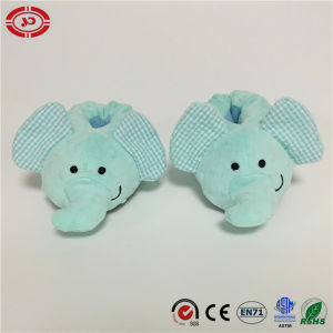Baby Shoes Blue Elephant Fancy Foot Support Warm Soft Toy pictures & photos