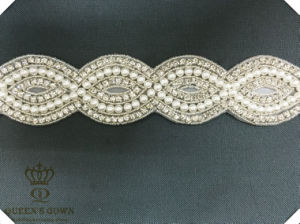 Long Wedding Dress Rhinestone Belt Accessories, DIY Accessories pictures & photos