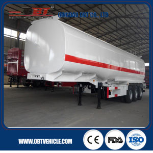 Stainless Steel Diesel Petroleum Tank Semi Trailer for Sale pictures & photos