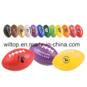 "3.5"" Small Printed Football Stress Reliever (PM185) pictures & photos"