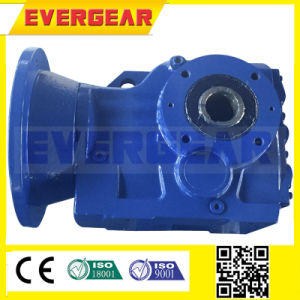 Mtj Series R Electric Motor Reduction Gearbox with Helical Bevel Gear pictures & photos