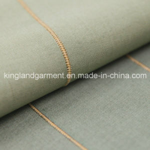 Polyester Inherently Fire Retardant Striped Jacquard Woven Fireproof Curtain pictures & photos