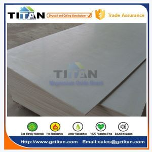 Fire Rated Interior MGO Board with Ce Certificate