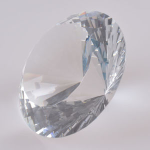 150mm Large Clear Crystal Diamond for Wedding Souvenir, Paperweight Table Decoration pictures & photos