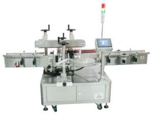 Santuo Double Corner Sealing Labeling Machine/Labeler pictures & photos
