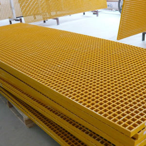Fiberglass FRP GRP Phenolic Molded and Pultruded Grating pictures & photos