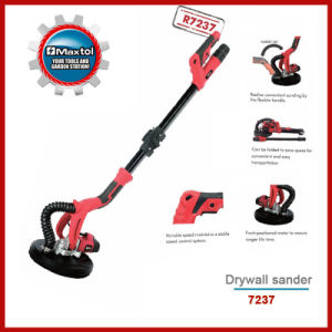 710W 225mm Drywall Polisher with Long Handle
