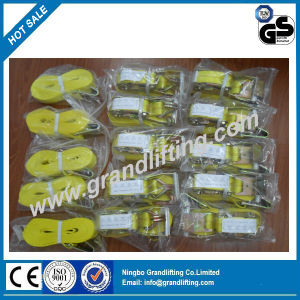 Us Standard Polyester Ratchet Tie Down Strap pictures & photos