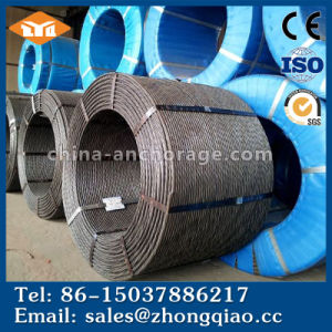 ISO9001 Certificated ASTM A416 Grade 270 9.5mm PC Steel Strand pictures & photos