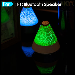 Colorful Mini LED Light Bluetooth Speaker pictures & photos