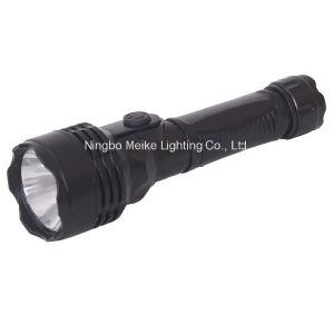 Promotion Gift Plastic Rubber 1watt Mini Flashlight (MK-6610)