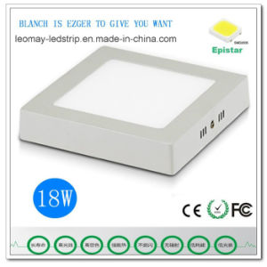 Factory Price Aluminum 18W LED Panel Light with Ce RoHS pictures & photos